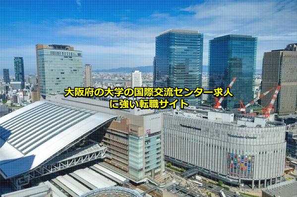 大阪府の大学の国際交流センター求人が比較的多い大阪市の画像