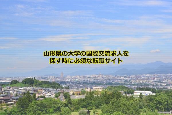山形県の大学の国際交流求人に強いのはJOBNET、doda