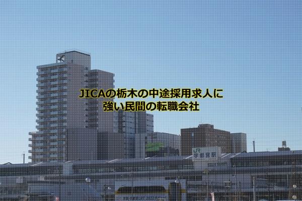 JICA栃木デスクの中途採用求人に強いのはパソナキャリア