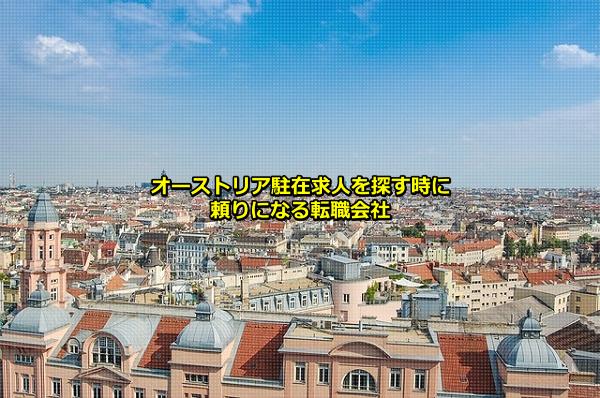 勤務地がオーストリアの日系企業の現地法人が集まるウィーンの画像