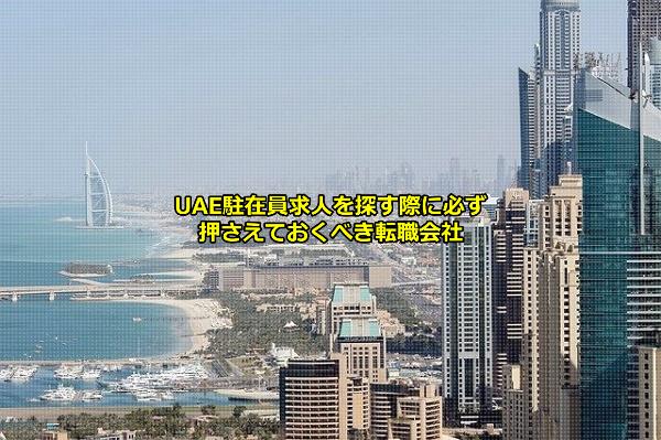 UAE(アラブ首長国連邦)の駐在員求人を募集する企業の拠点が集まるドバイの画像